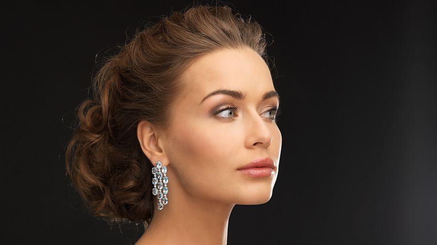 Creative Gold Ear Ring For Women Gold Hoop Earrings For Women