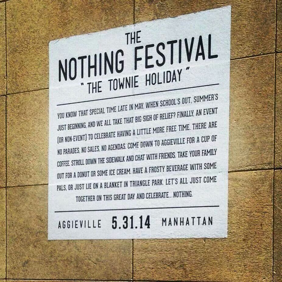 Nothing festival-Manhattan, Kansas
