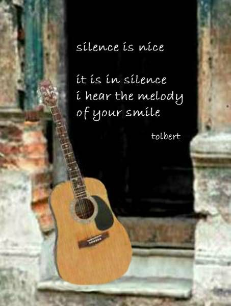 guitar strings still and untouched admire the silence you bring to unsung songs...
