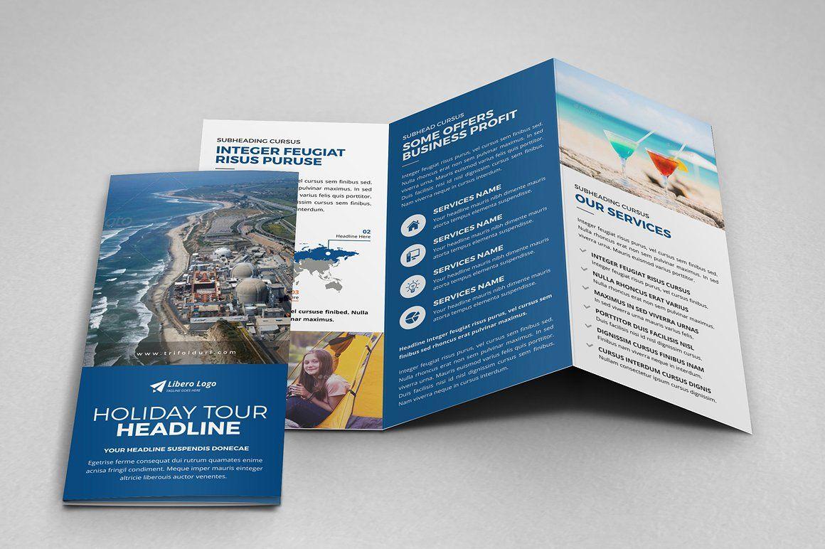 Multipurpose Trifold Brochure Design Trifold Brochure Design