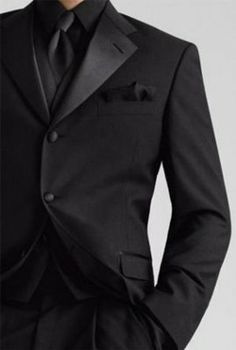 Log In Tumblr All Black Tux Black Tux Wedding Black Tuxedo