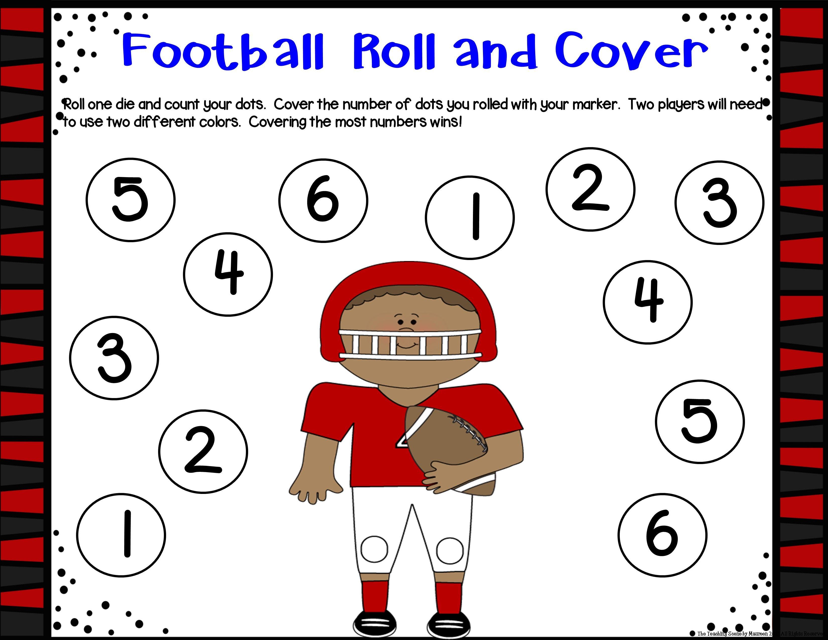 Football Unit Activities Amp Center