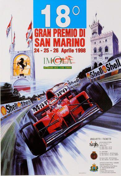 San Marino GP, Michael Turner - 1998