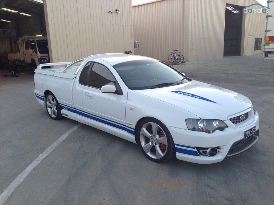2007 Ford Performance Vehicles Super Pursuit Bf Mk Ii Sports Automatic Australian Cars Cars For Sale Ford Taurus Sho