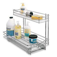 Lynk Professional Wide Roll Out Double Basket Drawer 11 5 Inch X 21 Inch Deep Under Sink Drawer Under Sink Organization Under Sink