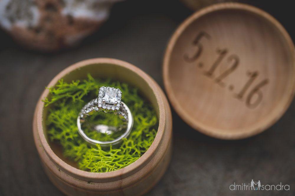 RusticGlam Oceanfront Wedding Lauren David Wedding designs