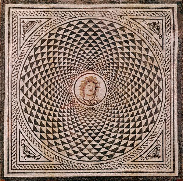 Mosaico romano geom trico getty mosaicos geom tricos i for Mosaico romano