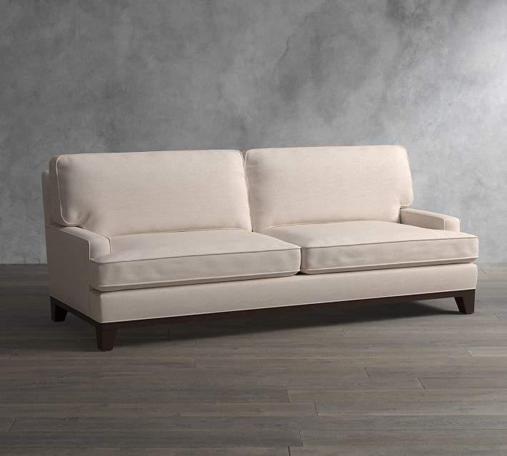 Pottery Barn Seabury Upholstered Sleeper Sofa With Memory