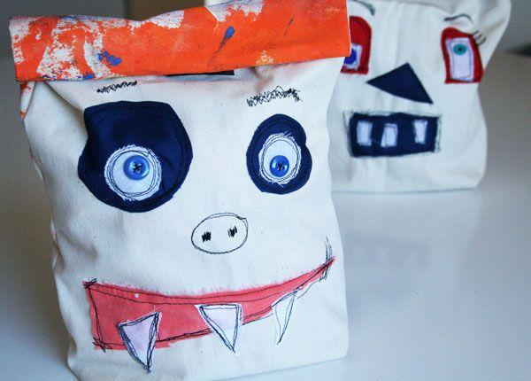 Monster lunch bag