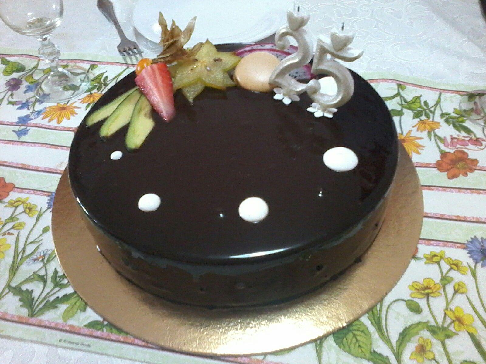 Csokoládés jégtorta Mignon cukrászda Debrecen
