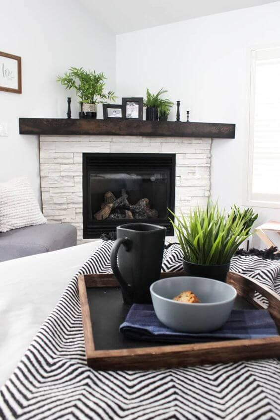 13 Best Corner Fireplace Ideas For Small Space In 2020 Corner Fireplace Makeover Corner Fireplace Bedroom Renovation