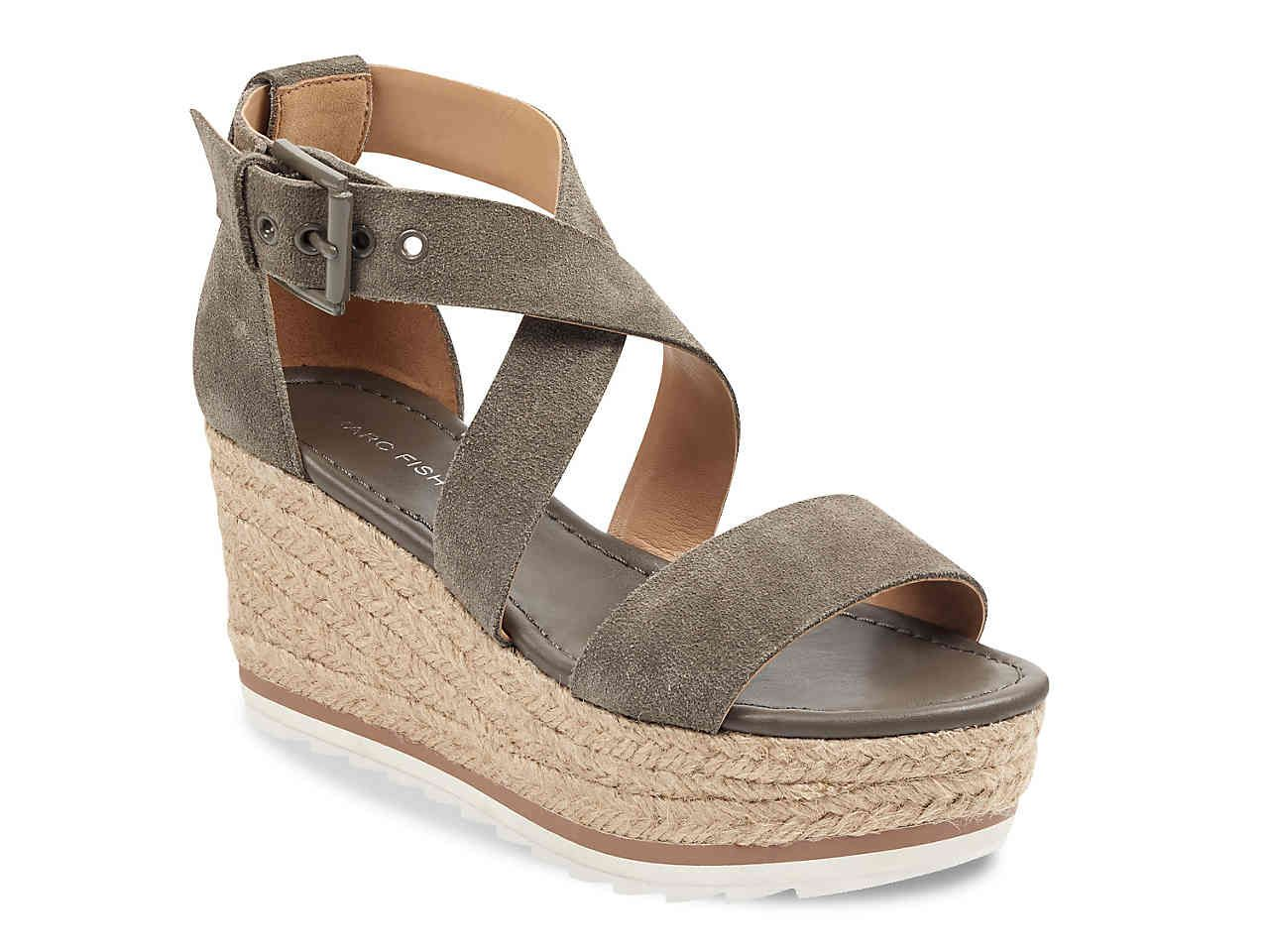 87e0128cb6f7 Marc Fisher Zaide Espadrille Wedge Sandal Women s Shoes