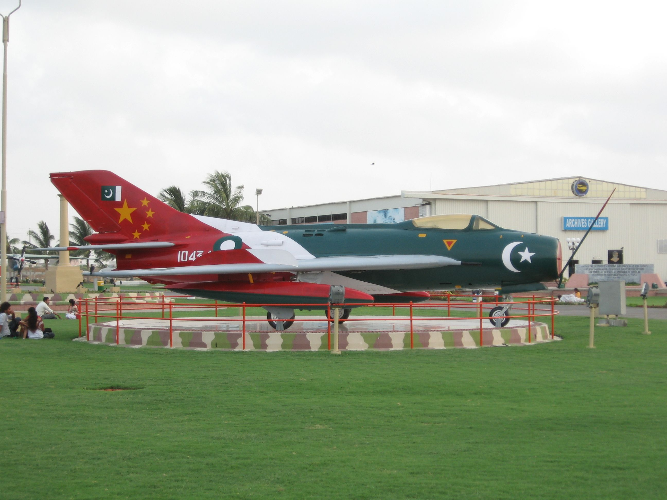 Pakistani Air Force F6 Aircraft at PAF Museum, Karachi