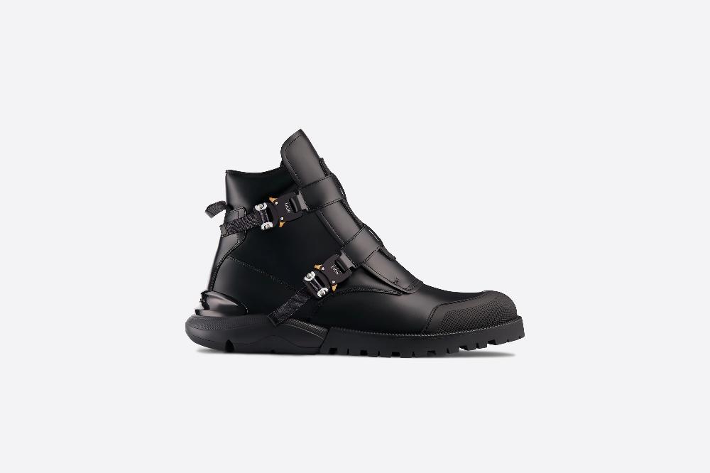 Black calfskin boots - Shoes - Men's