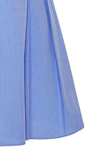 Adriatic Pintucked Cotton Top by Ellery Now Available on Moda Operandi