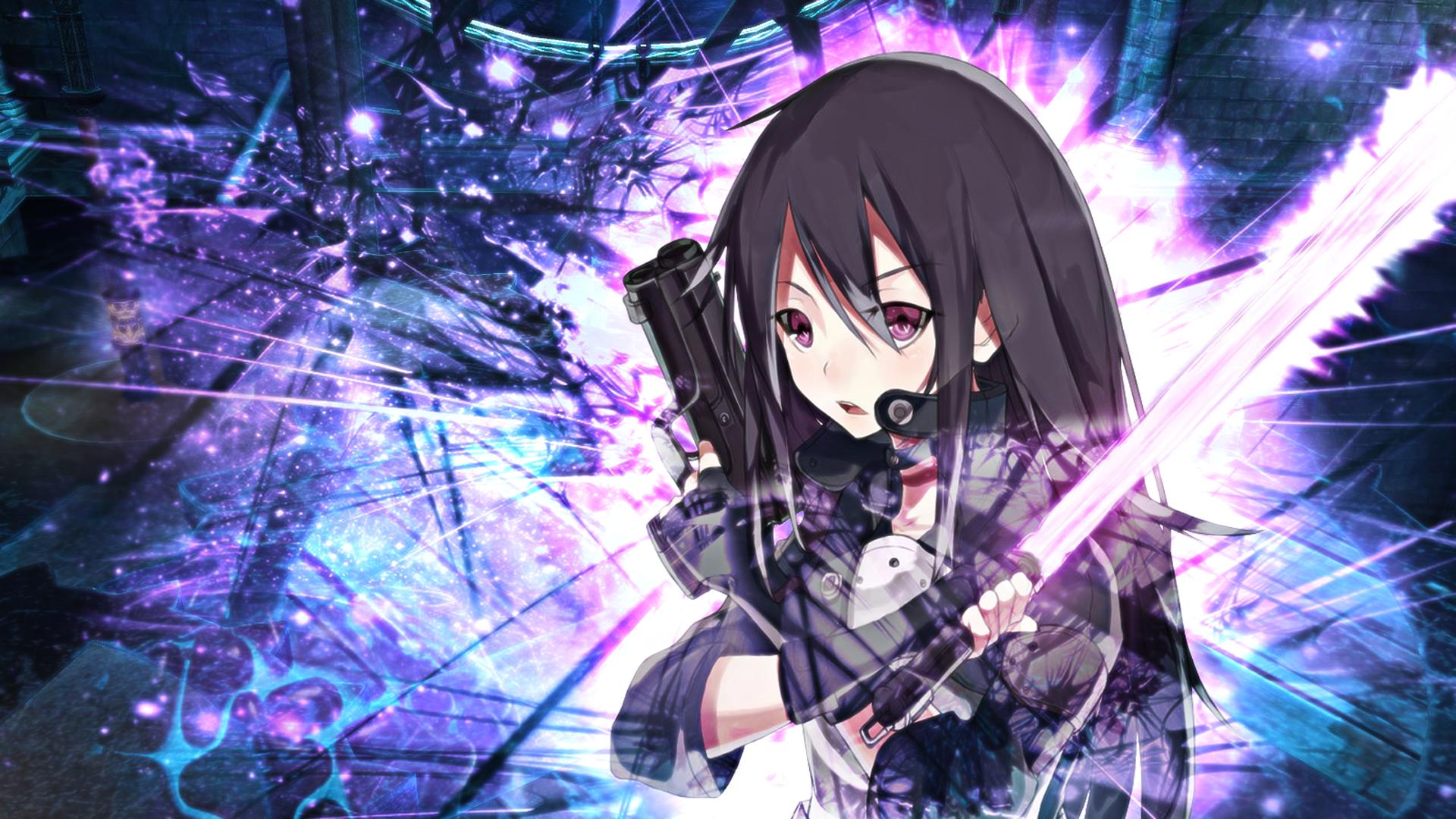 kirito gun gale online phantom bullet arc sword art online