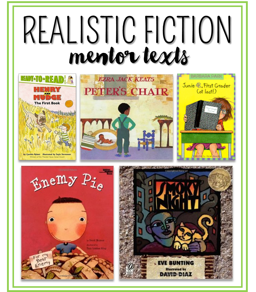 Writing Realistic Fiction in 1st and 2nd Grade! | realistic ...