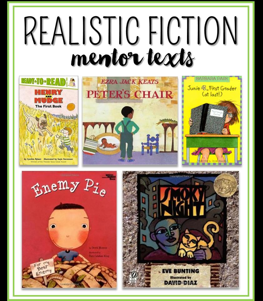 Contemporary Realistic Fiction Children's Books