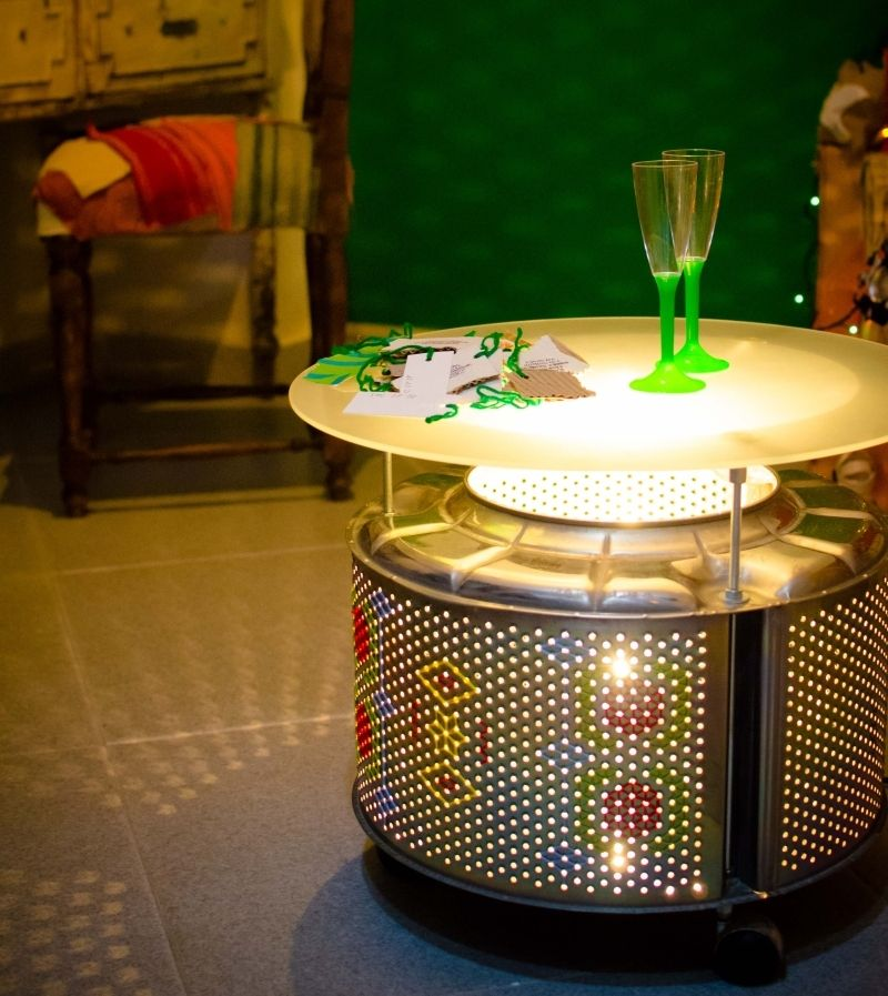 Merveilleux Creative Ideas To Recycle Washing Machine Drum Into Functional Objects
