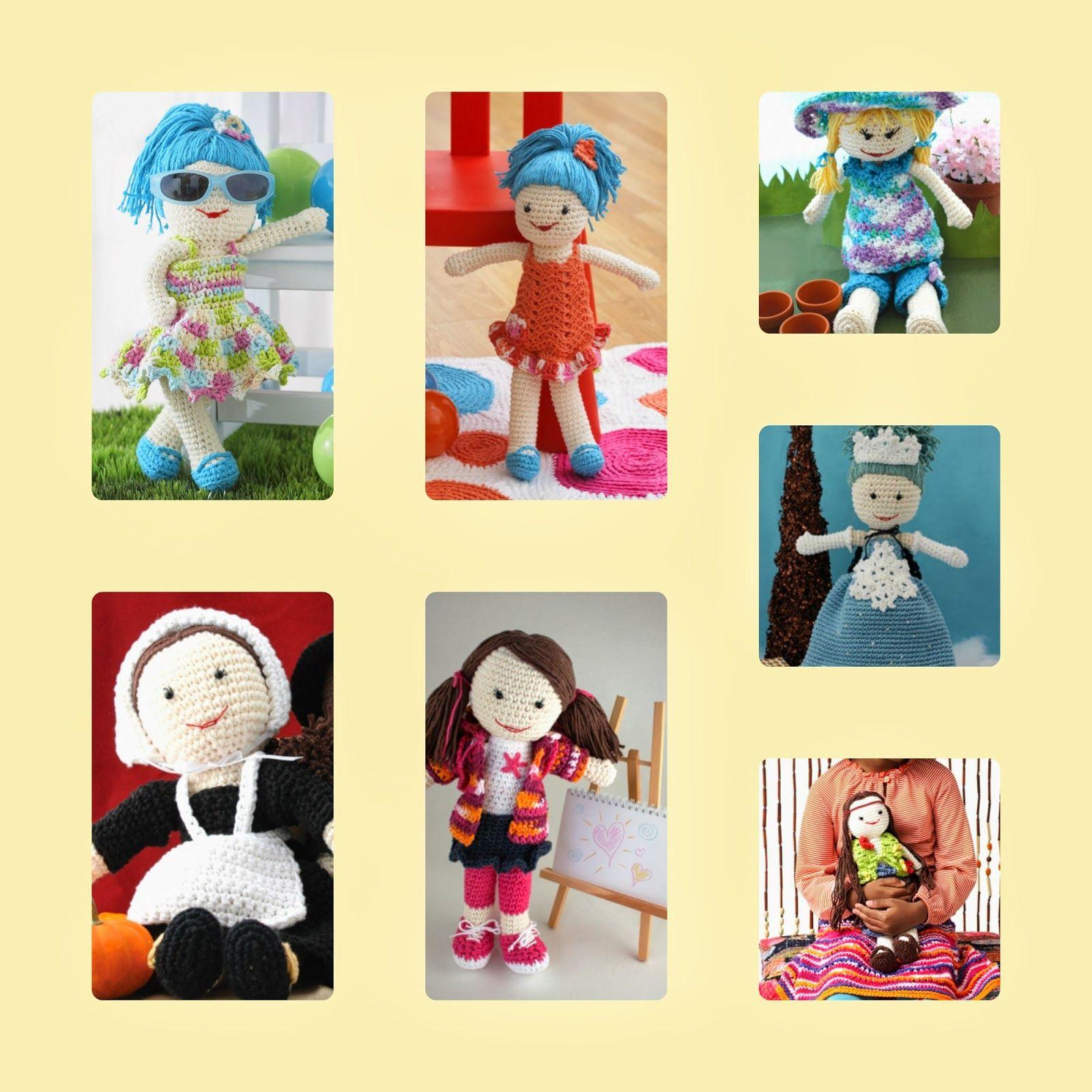 crochet doll-crochet doll patterns-easy crochet doll patterns-free ...