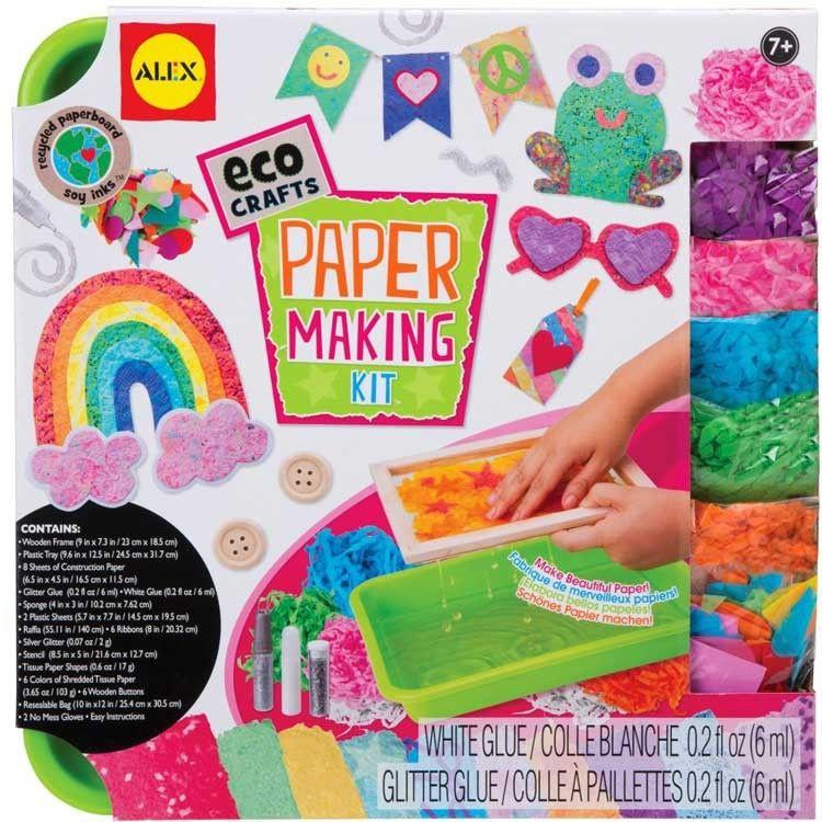 Paper Making Kit Kids Eco Craft Paper Making Kit Eco Crafts Paper Crafts
