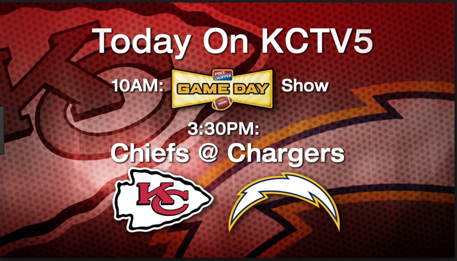 This Is A Screen Shot Of A Pre Game Show For The Chiefs Sponsored By Price Chopper Price Chopper Uses Their Relationship W Price Chopper Cereal Pops Game Show