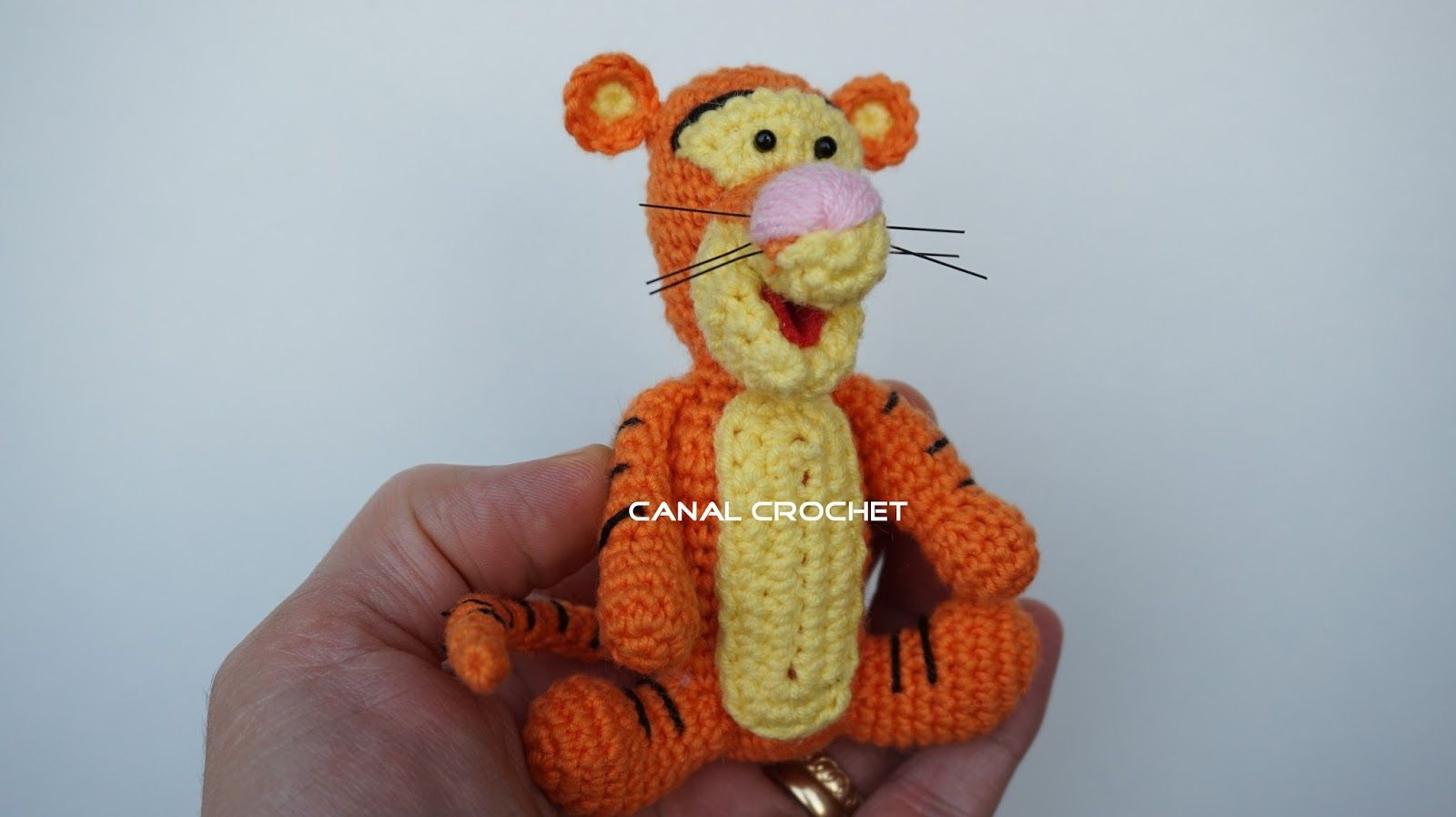 CANAL CROCHET: Tigger amigurumi tutorial | 동물인형 | Pinterest ...