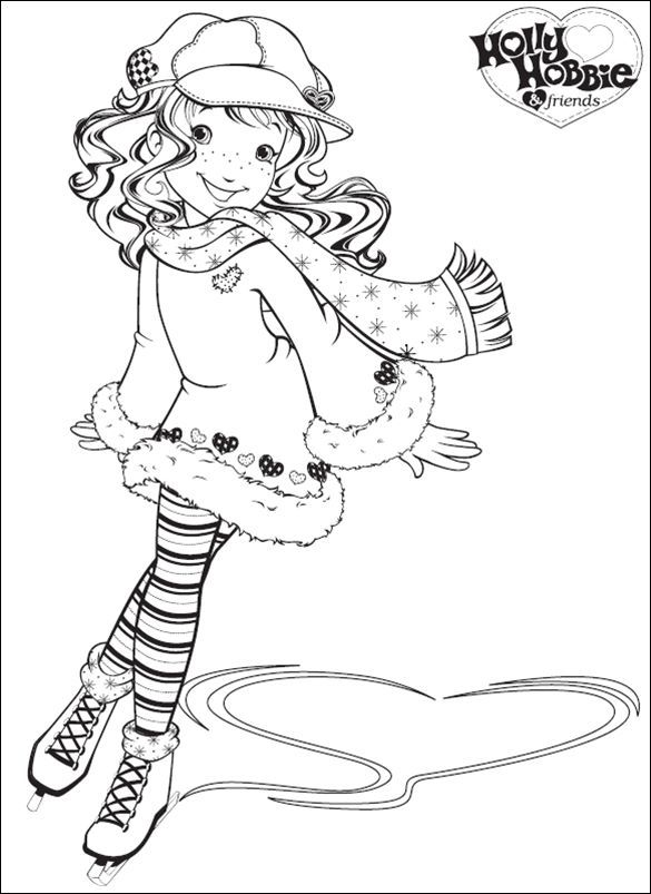 Holly Hobbie Solange Sueiro Lara Albuns Da Web Do Picasa Coloring Pages Coloring Books Coloring Book Pages