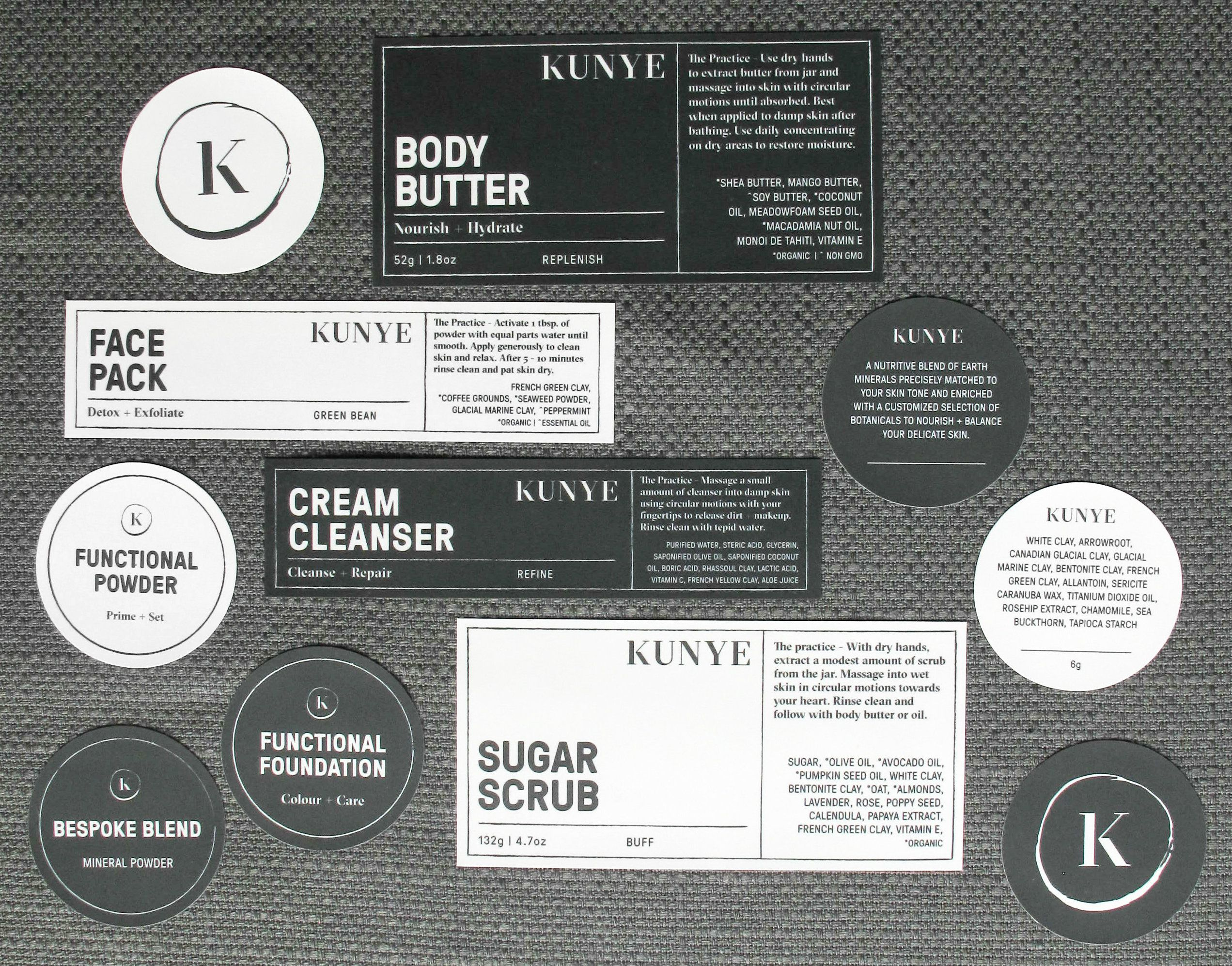 Custom Cosmetic Labels from ShortRunLabels.com