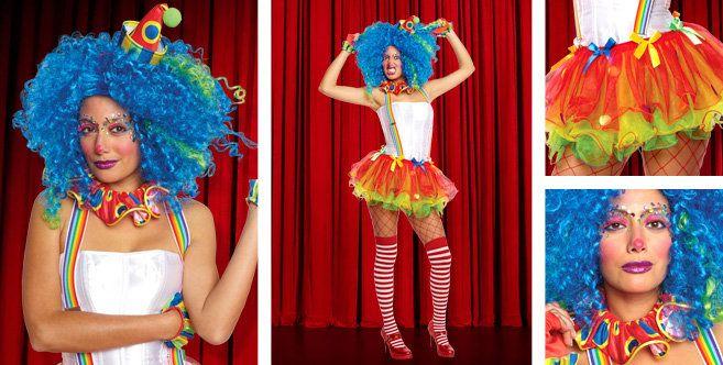 Sassy Clown-Party City