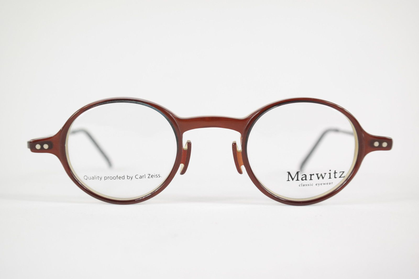 168629946c154 Carl Zeiss Marwitz 8402 8200 40    24 140 brown silver glasses frame glasses  NOS P1 Quality proofed by Carl Zeiss new old stock Unisex You are looking  at a ...