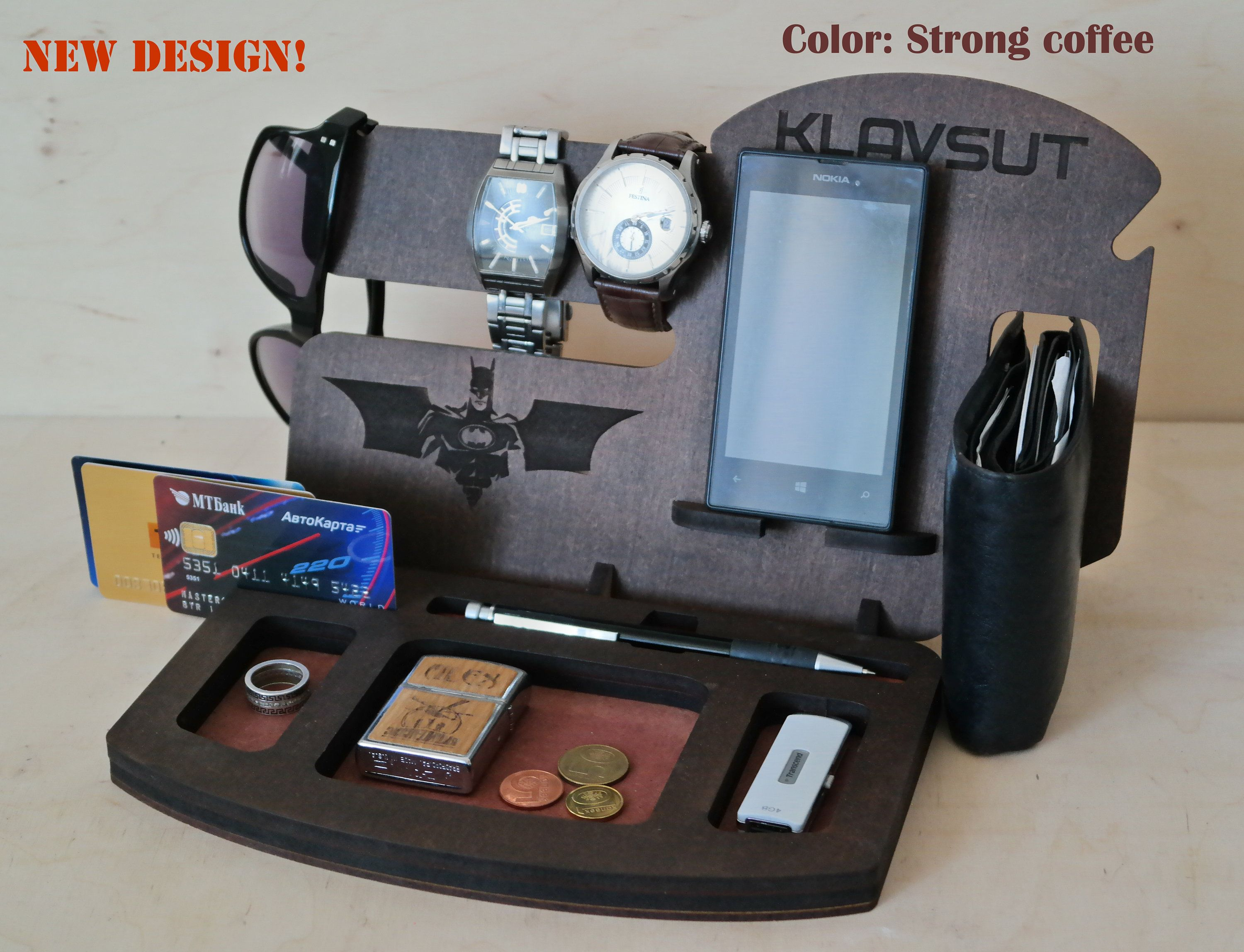 b7b0201efe218 Personalized Docking Station Gift for Men Mens birthday