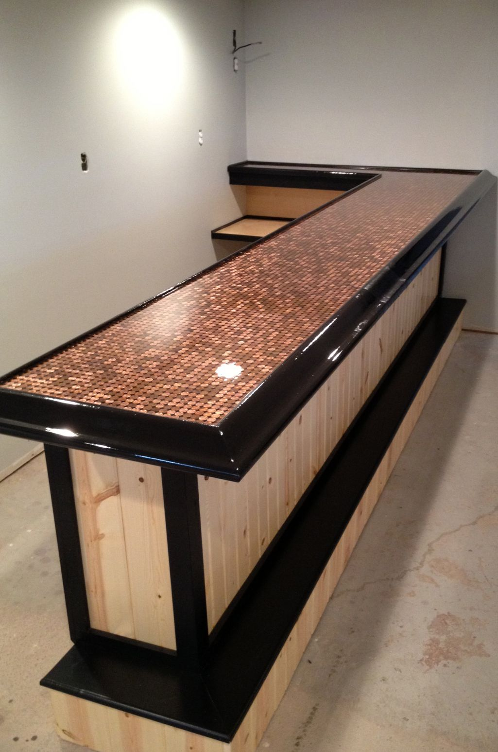 Epoxy Bar Top #epoxy #resin #coating | Création | Pinterest | Bar ...