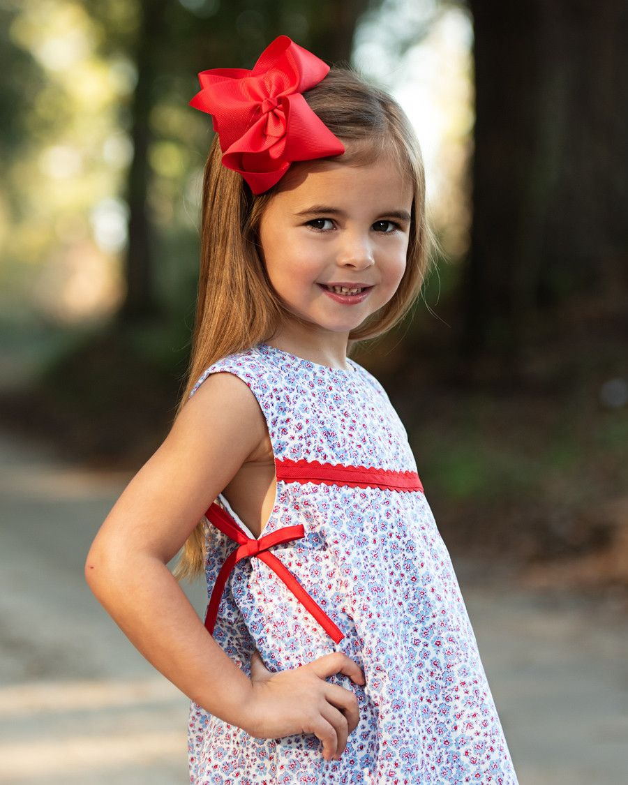 Blue and Red Floral Sydney Dress in 2020 Dresses, Red