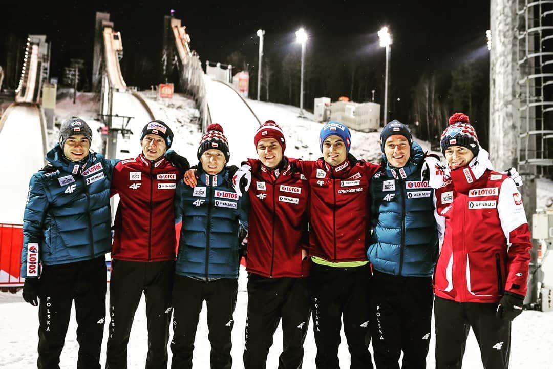 TeamPoland ♥️🇵🇱 pozdrawiamy niznytagil skijumping