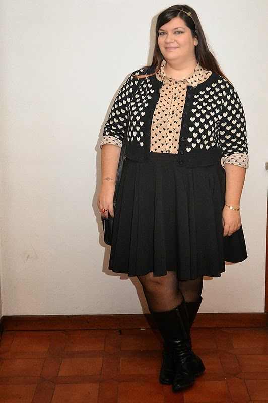 #outfit #plussize #psblogger #evans #asos #newlook #hearts