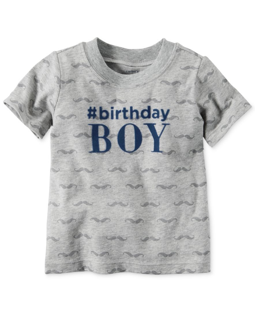 Carters Baby Boys Short Sleeve Birthday Boy T Shirt
