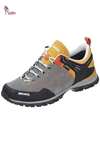 Meindl Damen Outdoorschuhe grau, 680339 9, Gr 9 Chaussures