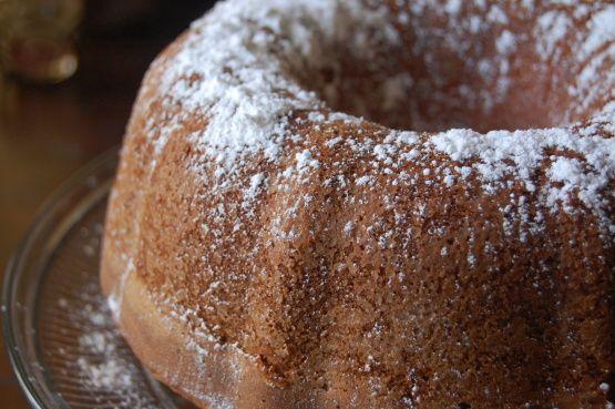 Grandmother Paul S Sour Cream Pound Cake Recipe Sour Cream Pound Cake Food Recipes Food Network Recipes