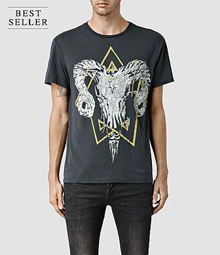 8b898f152 ALLSAINTS: Mens T-Shirts   Crew Neck, V-Neck, Printed & Graphic Tees ...