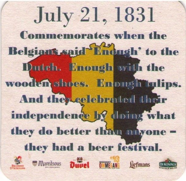 Points East Pub - TODAY IS BELGIUM INDEPENDENCE DAY!COME CELEBRATE WITH US!On tap: Ommegang Hennepin SaisonBottles:Rochefort #8, Rochefort #10, La Trappe Witte, Westmalle Trippel