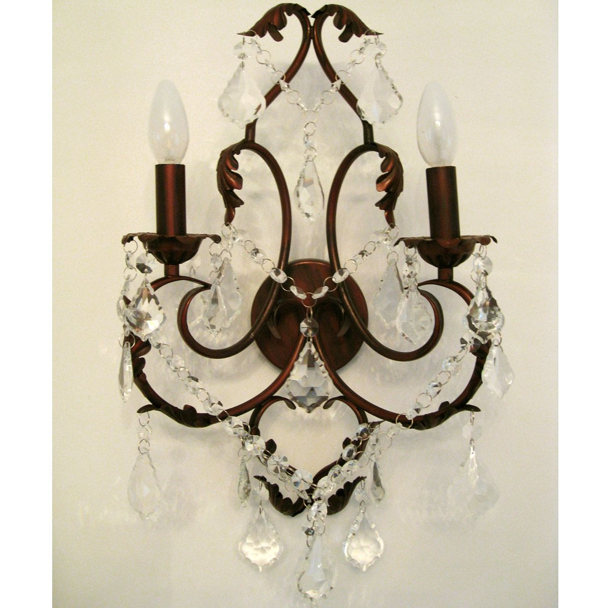 Romantica Bronze Wall Sconce Wall Sconces / Wall Lights