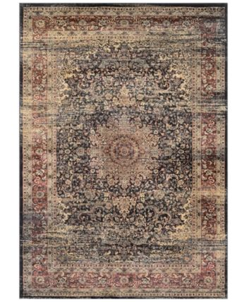 Couristan Closeout Haraz Har439 Black 7 10 X 11 2 Area Rug Reviews Rugs Macy S In 2020 Couristan Red Area Rug Area Rugs