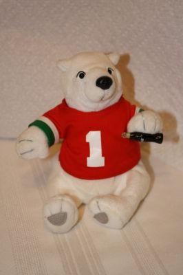 good condition Bean Bag Coca-Cola 5 plush Coca Cola Coke Polar Bear