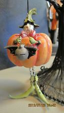 retired dept 56 halloween set of 4 Krinkles ornaments