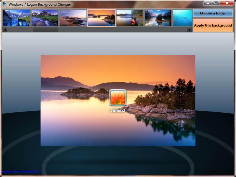 How to change wallpaper login windows yes - Windows 7 wallpaper changer software ...
