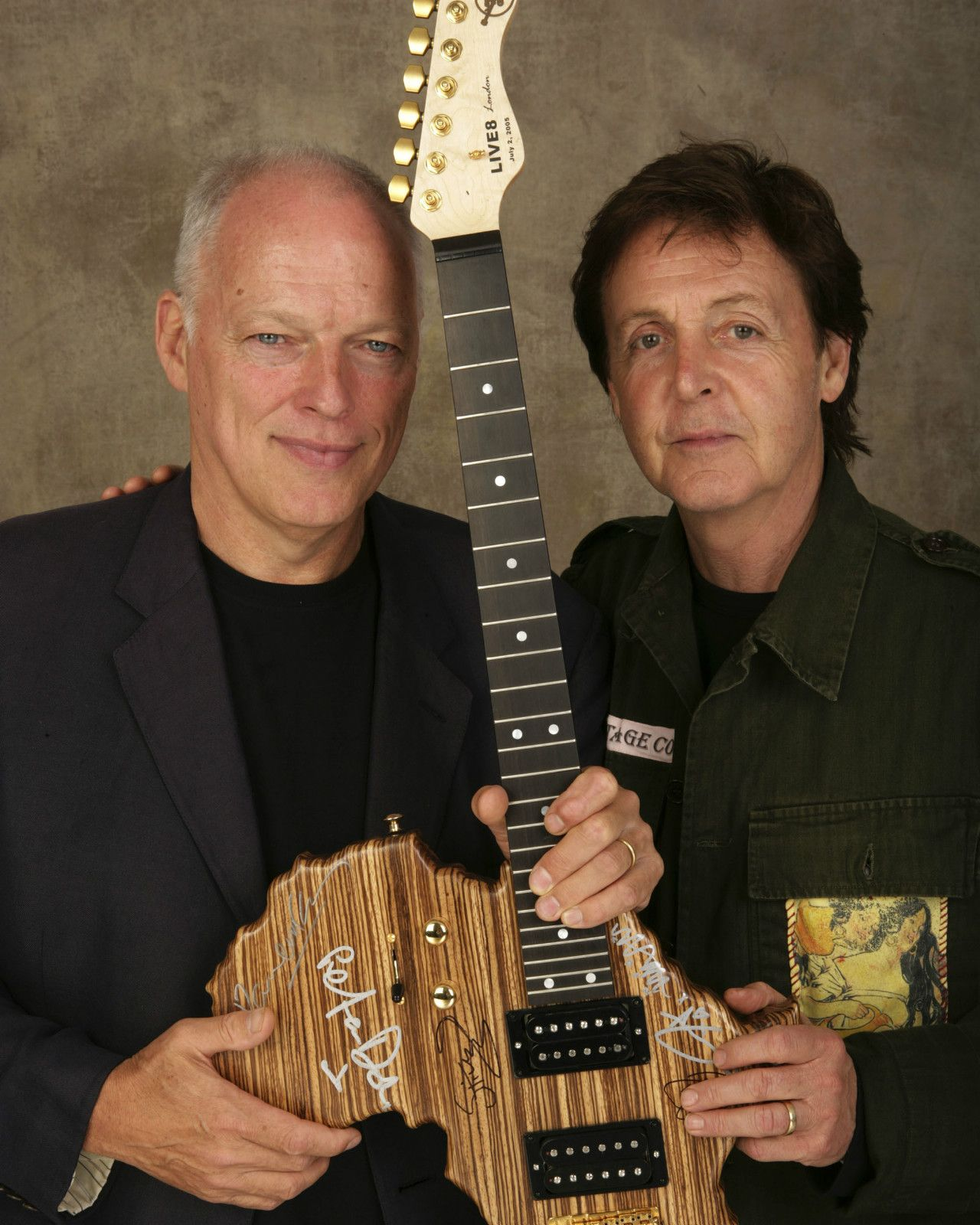 david gilmour paul mccartney what a great photo rock n roll