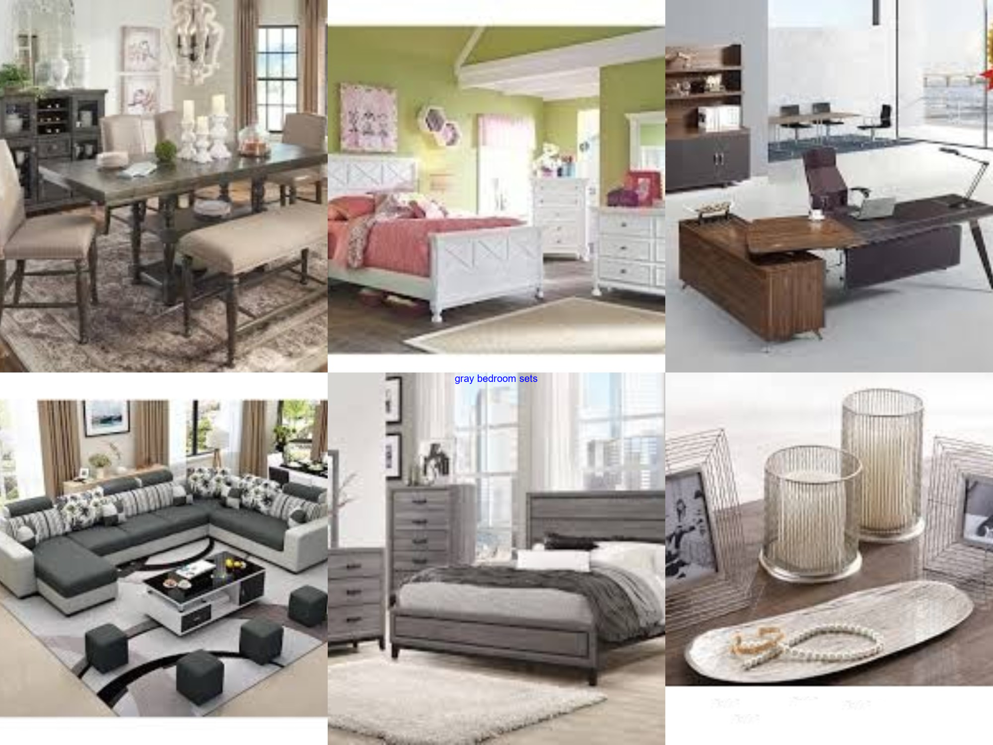 gray bedroom sets in 6  Furniture prices, Ashley furniture