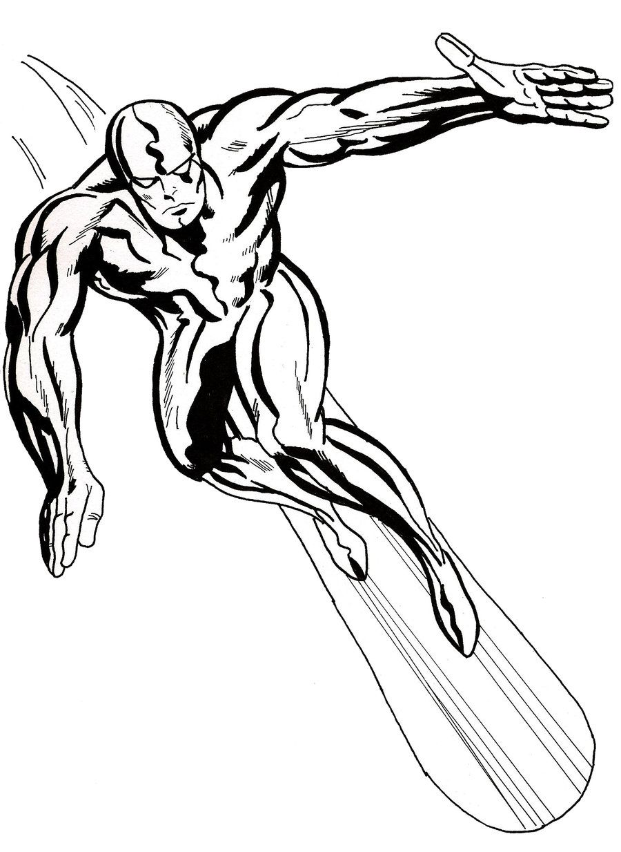 silver surfer by predator fan jpg 900 1 233 pixels super hero