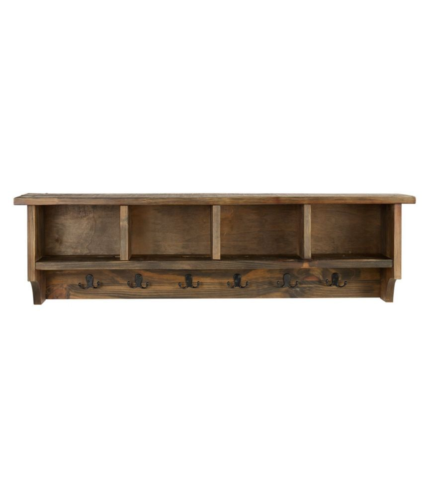 Bolton Rough Pine Wall Cubby With Hooks Wall Cubbies Pine Walls Cubbies Entryway shelf with hooks and cubbies